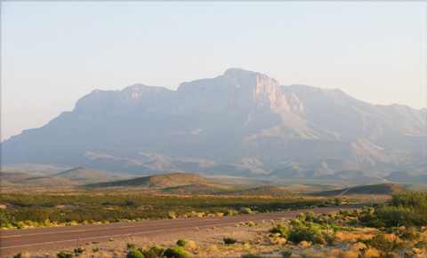 Guadalupe Peak and El Capitan
