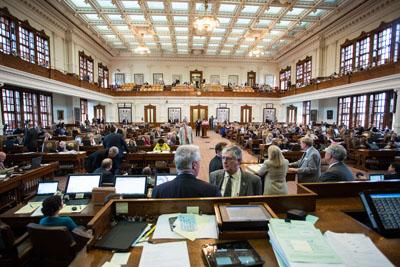 The Texas House Of Representatives. House Of Representatives Photo.